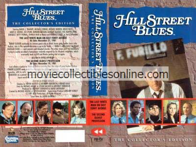 Hill Street Blues VHS - Last White Man on East Ferry Avenue, Second Oldest Profession
