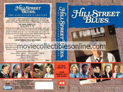 Hill Street Blues VHS - Life Death Eternity Etcetera, I Never Promised You a Rose Marvin