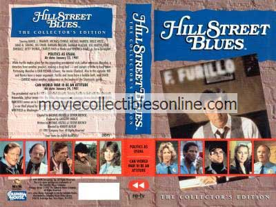 Hill Street Blues VHS - Politics As Usual, Can World War III Be an Attitude?