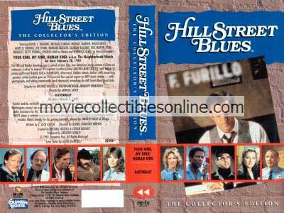 Hill Street Blues VHS - Your Kind My Kind Human Kind, Gatorbait
