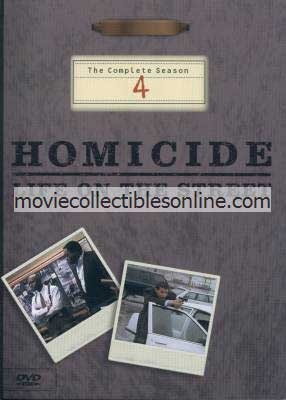 Homicide: Life on the Street DVD - Season 4