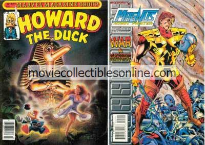 3/1981 Howard the Duck & 5/95 Magnus Robot Fighter